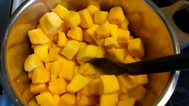 Frusen mango